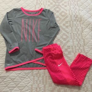 Baby Girls Nike Dri-Fit Outfit